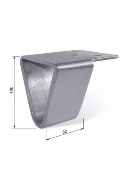 Noga aluminiowa NA 005