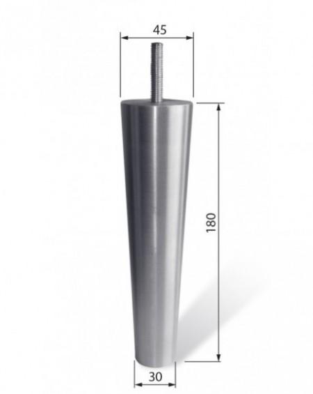 Noga aluminiowa NA 018